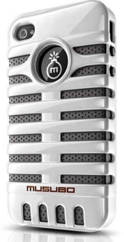 Musubo Elvis Case for Apple iPhone 5/5S - White