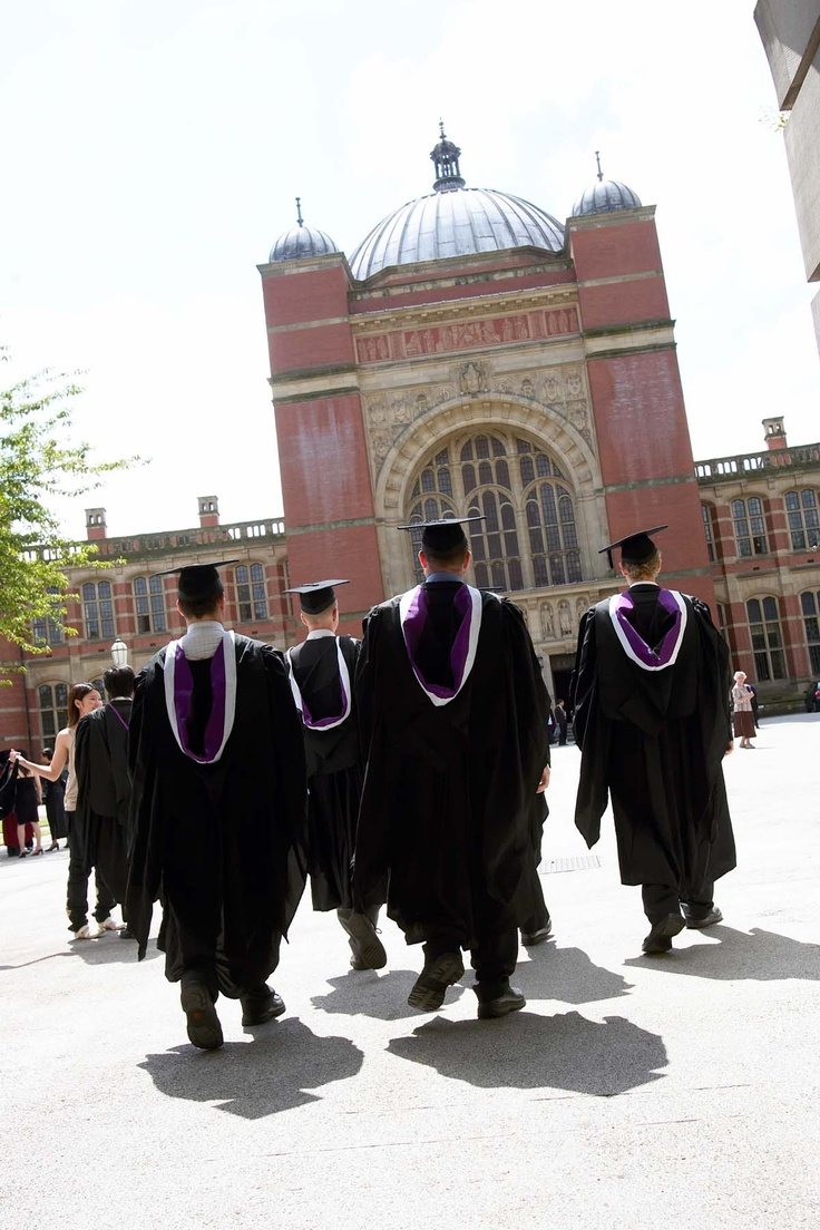 Graduation at the University of Birmingham
