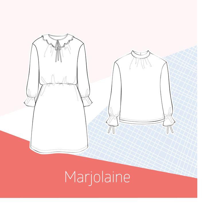 Robe et blouse Marjolaine / Versions A et B