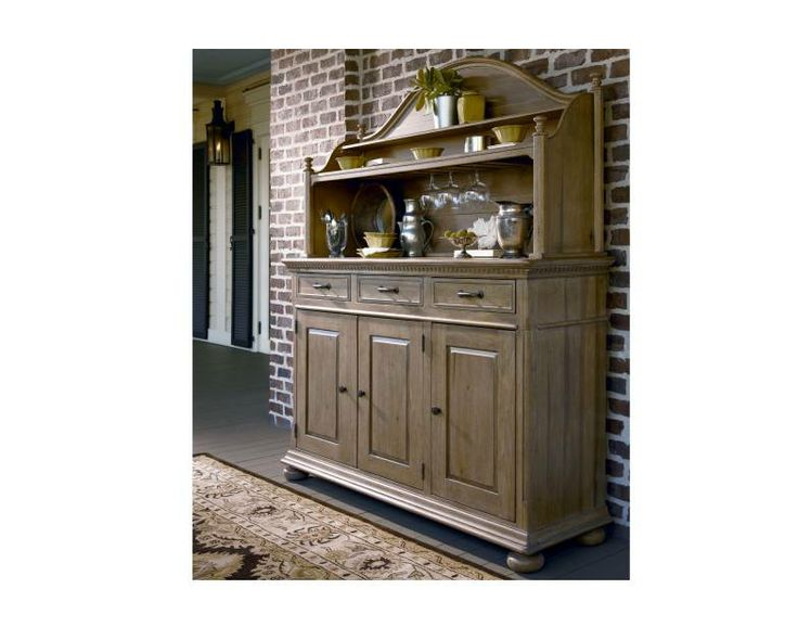 Paula Deen Down Home Hostess Oatmeal Credenza U0026 Hutch From Universal  Furniture At Star Furniture