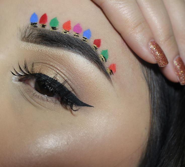 Bauble brows are here, just in case decorating your Christmas tree isn't enough | Metro News
