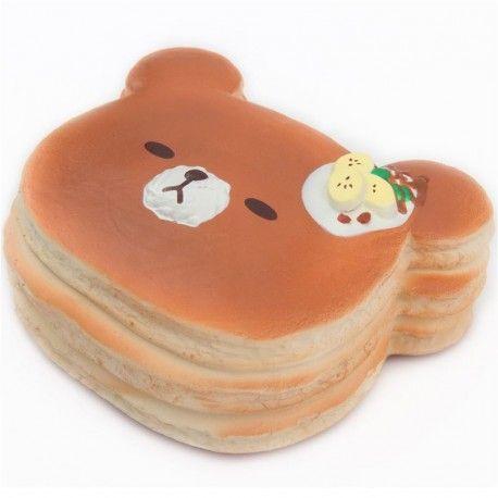 squishy grande banana orso pancake Puni Maru