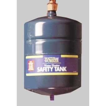 Water Worker G12L Thermal Expansion Safety Tank 4.4 gal, Silver steel