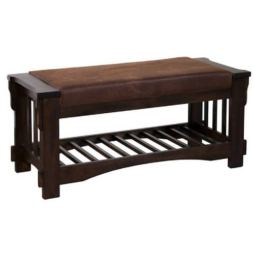 Sunny Designs 2237 Santa Fe Bench With Cushion Seat