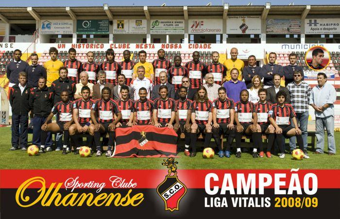 Equipa de 2008/09. Campeão da Liga Vitalis e subida á 1ª Divisão.