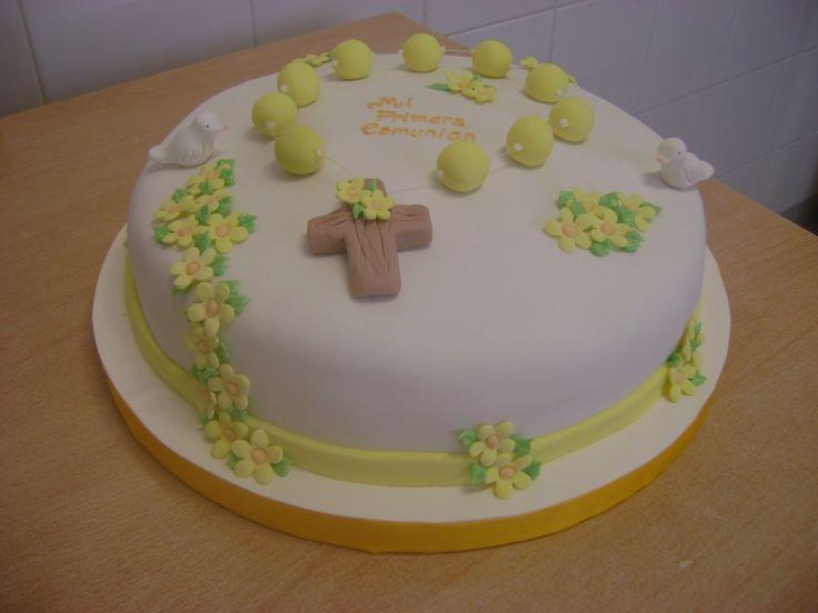Resultado de imagen para tortas de comunion