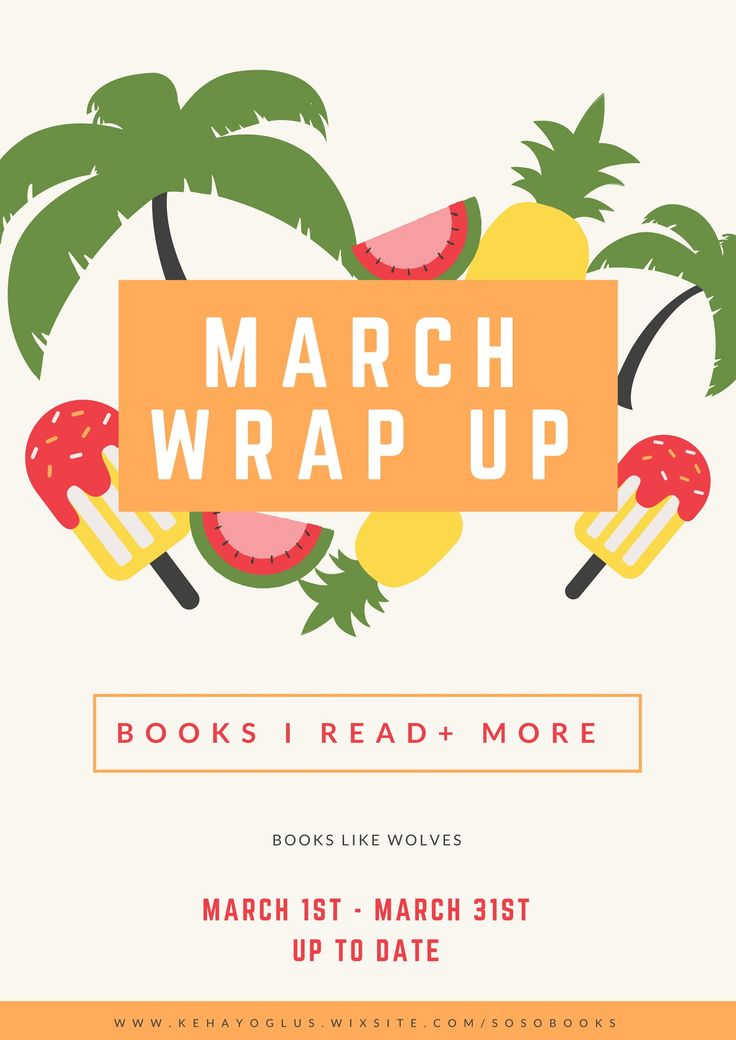 March 2017 Wrap Up http://kehayoglus.wixsite.com/sosobooks/single-post/2017/04/02/March-2017-Wrap-Up