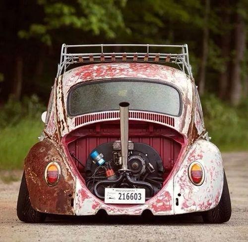 ❤ Visit ~ MACHINE Shop Café ❤ ❤ Best of VW @ MACHINE ❤ (Radical Rat ☠ VW Beetle)
