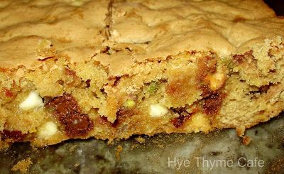 Amaretto Blondies with Pistachios, Cherries, and Chips | Food and ...