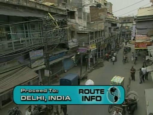 S13E6: Fly to Dehli, India.