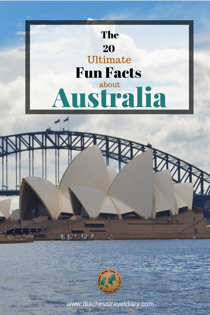 The 20 Ultimate Fun Facts about Australia. Every traveller and backpacker should know these funny facts before they travel down under!
