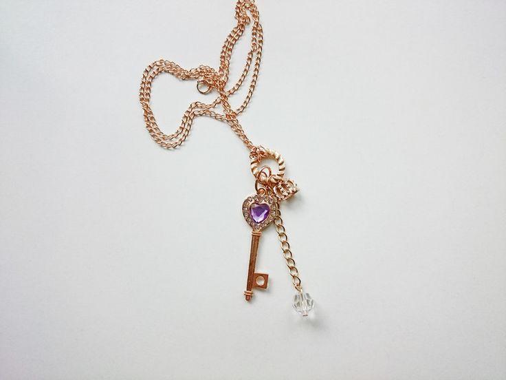 Geschenke für Frauen - Halskette- key geschenkideen geschenk - ein Designerstück von atelier-house-decor bei DaWanda