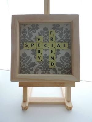 Very Special Friend Scrabble Frame