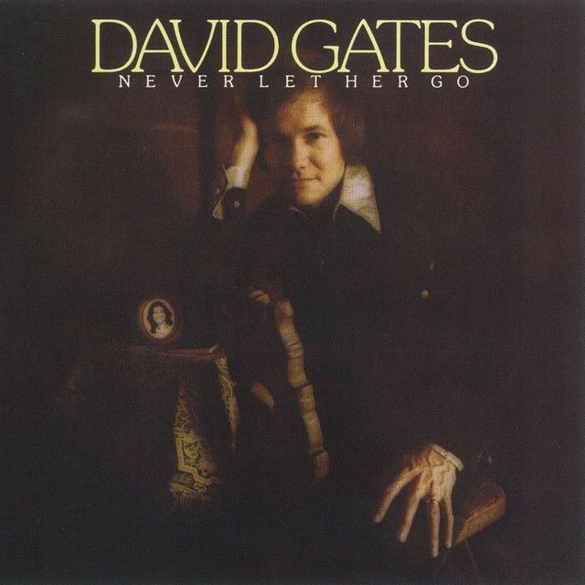 """Never Let Her Go"" by David Gates was added to my Discover Weekly playlist on Spotify"