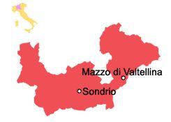 Mazzo di Valtellina - Lombardei Sehenswürdigkeiten