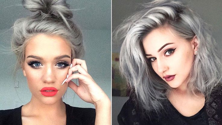 There's no shame in going grey or having silver hair, in fact if anything it's often considered a sign of wisdom and elegance. In fact you could say that grey hair is synonymous with ageing gracefully. But now young women around the world are also starting to rock those silver locks by dying th...
