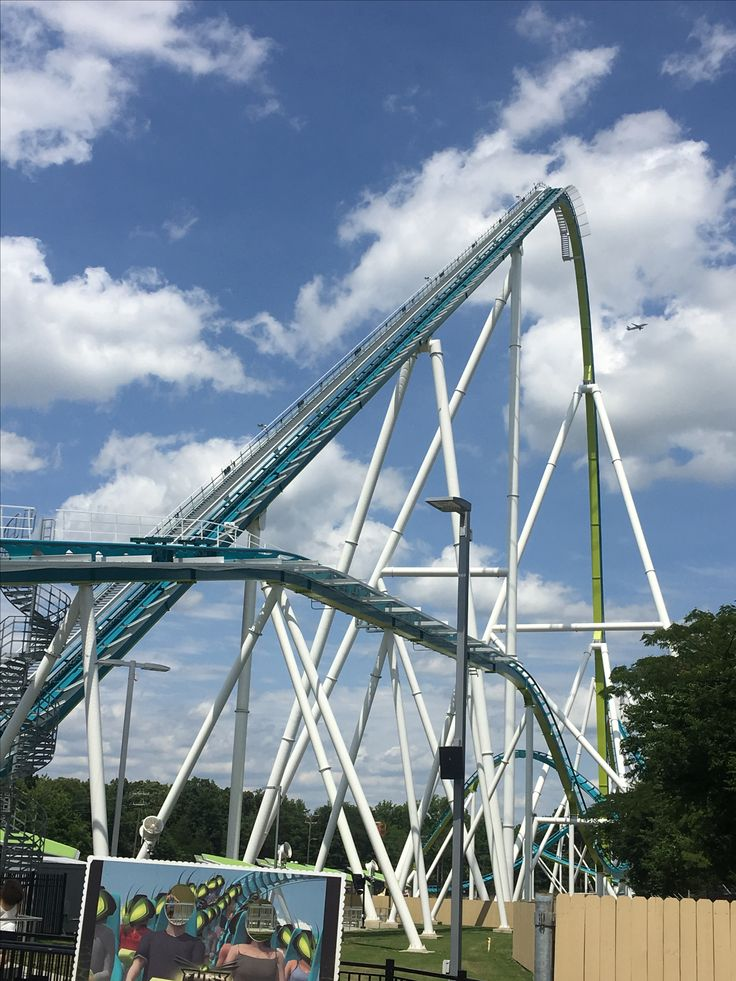 Spent Memorial Day at Carowinds! Ryan rode the Fury. 95 mph and the highest drop was 325ft