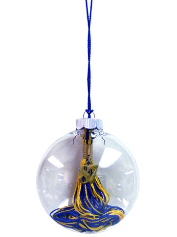 Preserve the graduation tassel that means so much in an ornament that will be treasured for years to come.