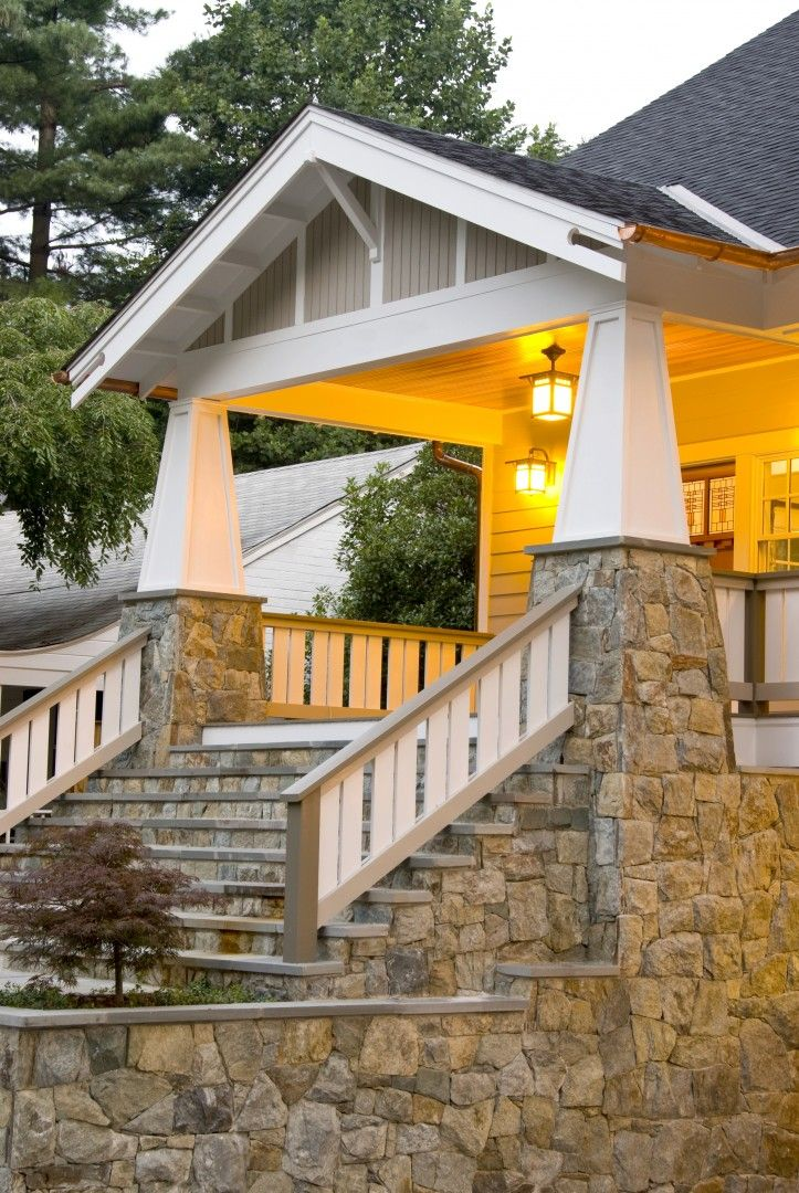 Because Craftsman homes were designed for the