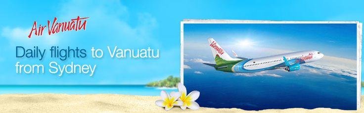 Air Vanuatu. Fares from $570 return