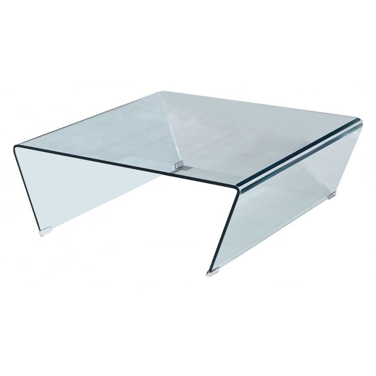 sen furniture ritz clear glass square coffee table a modern coffee table in solid