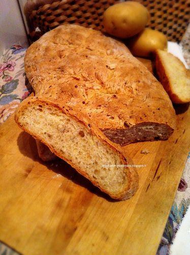 Kiosko di frutti di bosco: Pane di patate profumato al rosmarino