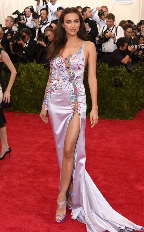 I kind of love that Irina Shayk has totally committed herself to the utterly tacky. You keep doing you, girl!