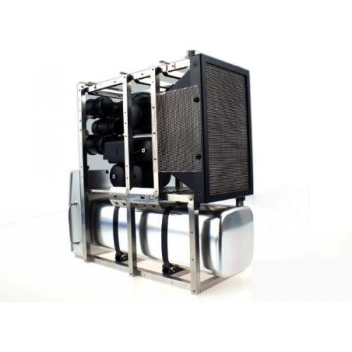 1-14-rc-car-truck-parts-metal-Aluminum-Frame-holder-full-Set-for-Tamiya