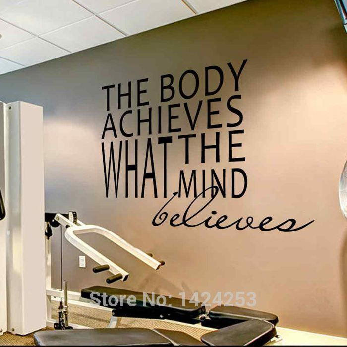 Home Gym Designs For Walls: Best 25+ Basement Workout Room Ideas On Pinterest