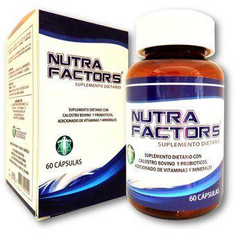 Factores de Transferencia Nutra Factors X 60 Cápsulas - Con Probióticos