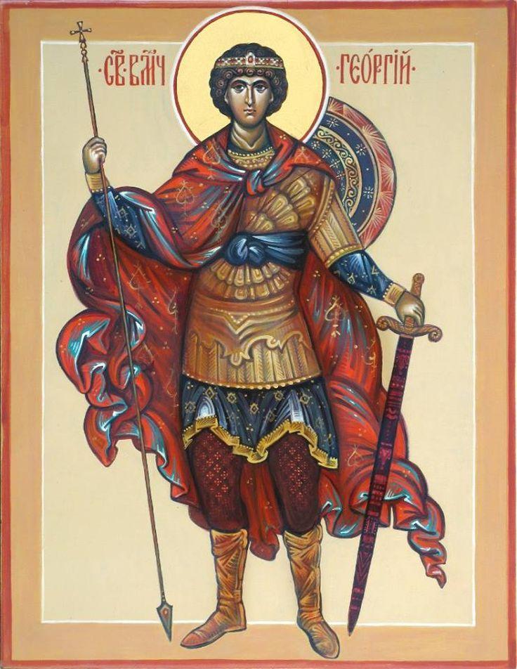 Αγ.Γεωργιος Ο Μεγαλομαρτυρας Και Τροπαιοφορος (275 - 303) _april 23