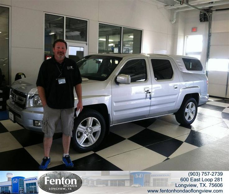 Congratulations to Michael Powell on your #Honda #Ridgeline purchase from Raul Hernandez at Fenton Honda of Longview! #NewCar