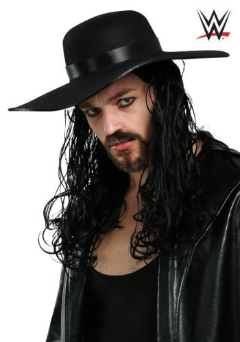 This Adult Undertaker Wig is officially licensed from the WWE and is the perfect accessory to complete your Undertaker costume.