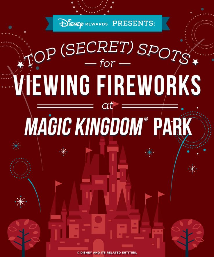 The fireworks that bring every day to a close at Magic Kingdom® Park are a traditional kiss goodnight that families and fans have enjoyed for generations. There's no wrong way to take in that tradition, but there are several little-known locations around the Park where there are fewer crowds and unique angles to witness the spectacular unfold. Here are our 5 picks to get you thinking about a whole new way to watch! There's a lot of looking up to look forward to!