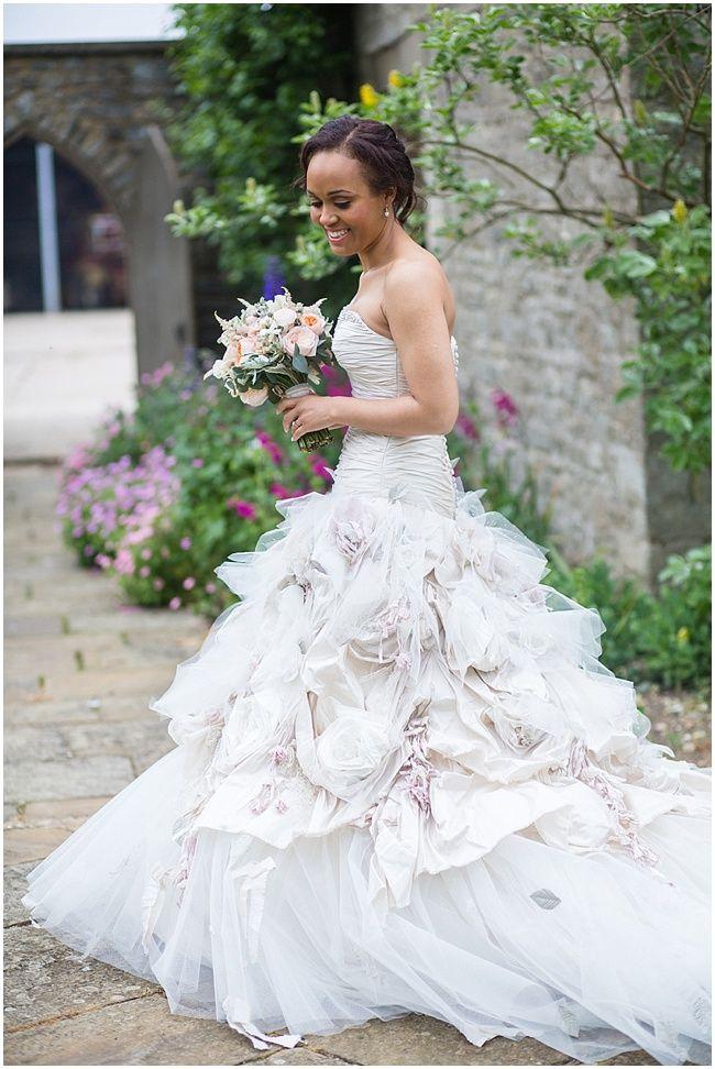 Gown By Ian Stuart Bride Enchanting Oxfordshire Wedding Binky Nixon Photography Www Nubride 3537 Jpg Dresses Pinterest