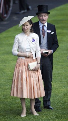 Lady Sarah Chatto, June 20, 2014 in Stephen Jones | Royal Hats