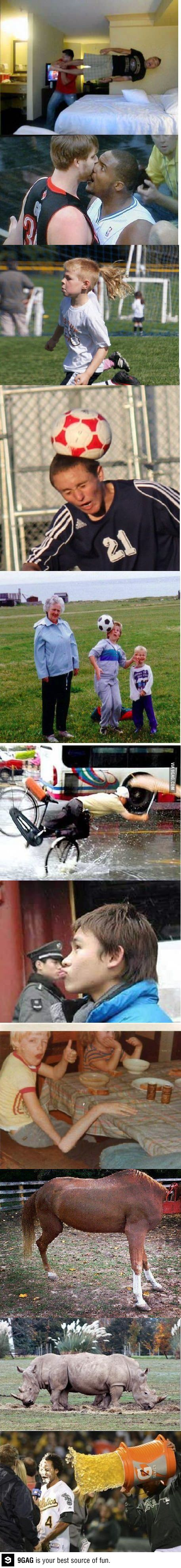 Some Perfectly Timed Photos