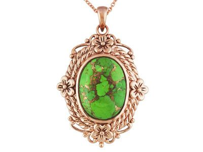jewelry grande grade of pendant images turquoise products high green product bisbee carusetta