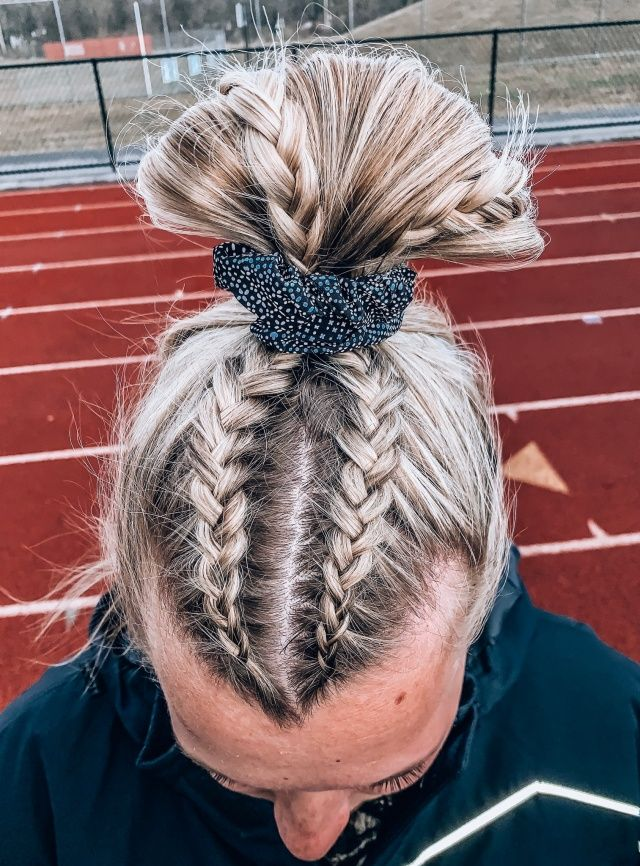 Vsco Laurenping Collection Cheer Hair Hair Styles Game Day Hair