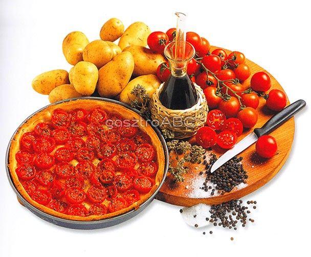 Margherita pizza oregánóval | Receptek | gasztroABC