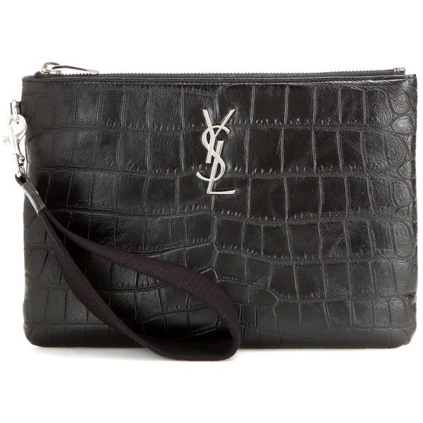 cheap royal blue clutch bag - yves saint laurent classic monogram leather clutch, ysl wallet mens