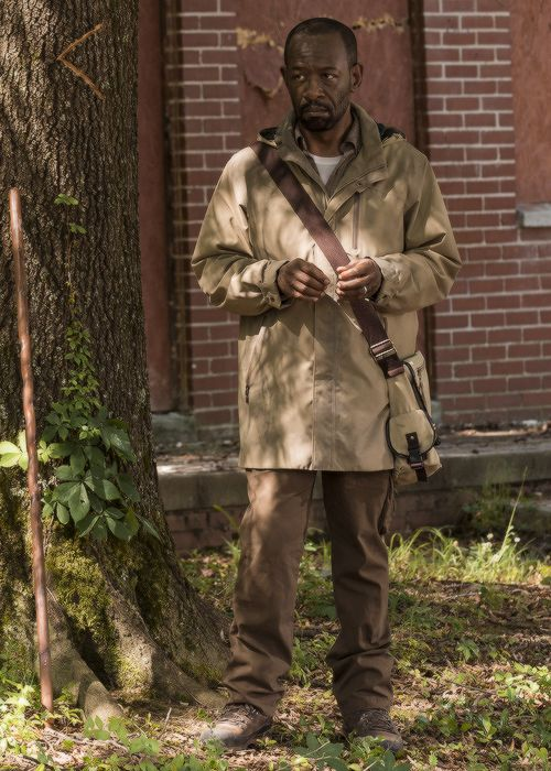""" Morgan Jones in The Walking Dead Season 7 Episode 2 