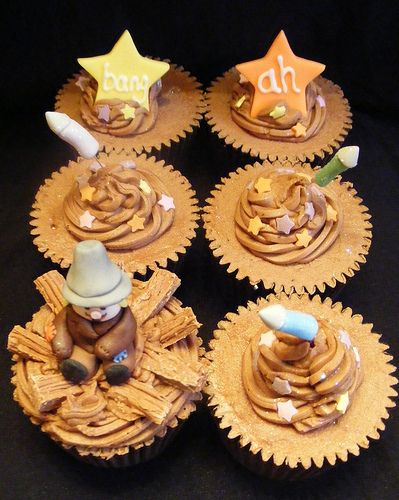 Bonfire Night   Guy Fawkes   Fireworks Night   5th of November Cupcakes