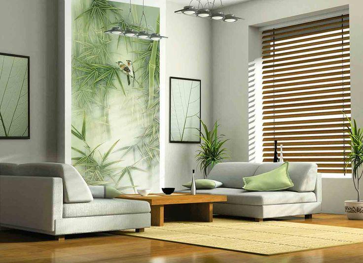 Флизелиновые фотообои ТП-449 Бамбук 1