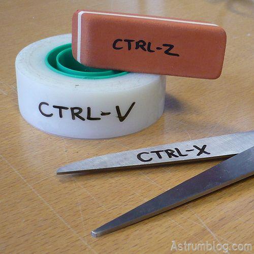 Ctrl -Z-X-V-