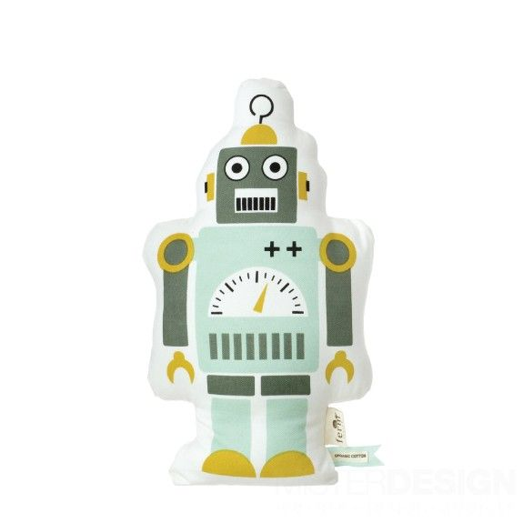 Mr. Robot Small Kussen - Ferm Living - Kids