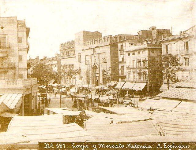 Mercat Central de Valencia. fotos antiguas