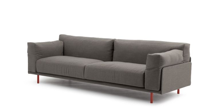 Ted sofa in Steetcut Trio fabric