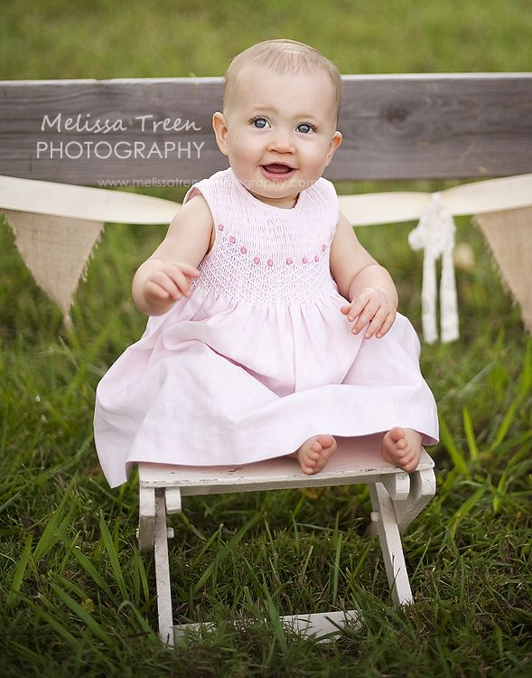 Fun baby pictures 9 months old at park childrens portrait photographer greensboro