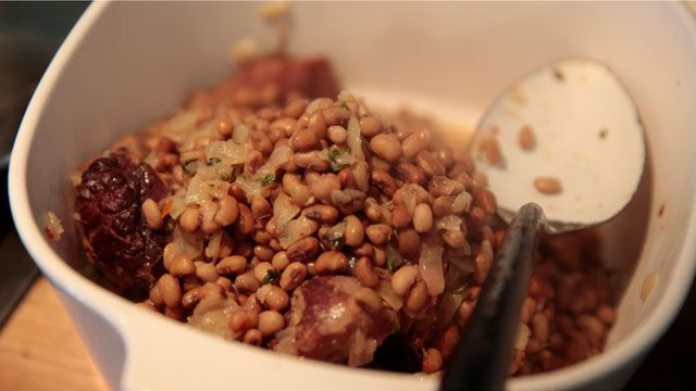 Make Vivian Howard's recipe for hoppin' john this New Year's Day on A Chef's Life with PBS Food.